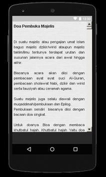 Doa Pembuka Majlis screenshot 1