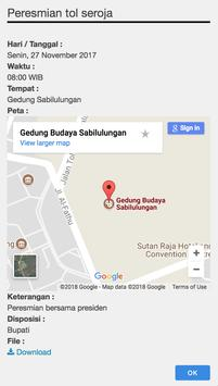 Agenda Bupati  Bandung screenshot 2