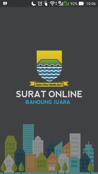 Surat Online Pemkot Bandung poster