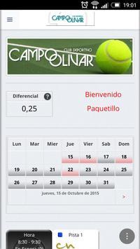Campo Olivar Squash poster