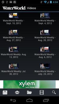 WaterWorld apk screenshot