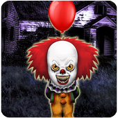 Pennywise Clown world (scary game) icon
