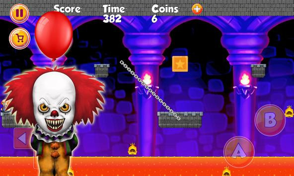 Pennywise Clown world (scary game) apk screenshot