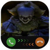 Instant Video Call Pennywise: Simulation icon