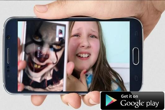 Instant Video Call Pennywise: Simulation screenshot 1