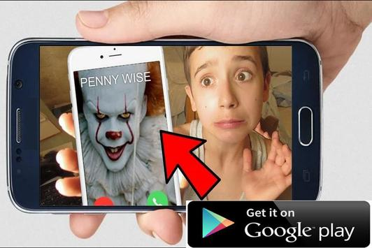 Instant Video Call Pennywise: Simulation screenshot 2