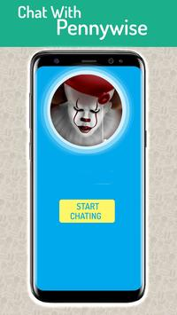 Chat With Pennywise Prank screenshot 1