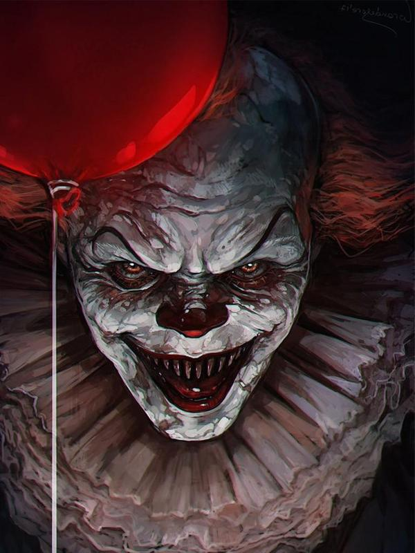 Pennywise art wallpaper for android apk download - Pennywise wallpaper ...