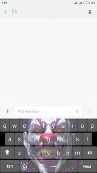 Pennywise Keyboard HD apk screenshot
