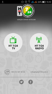 Kanal 7/24 Canlı TV apk screenshot