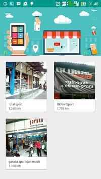 Pencarian Toko Olahraga DIY screenshot 1