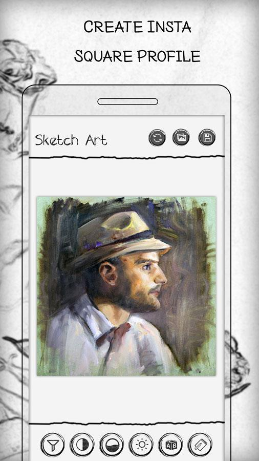 pencil sketch photo editor apk download