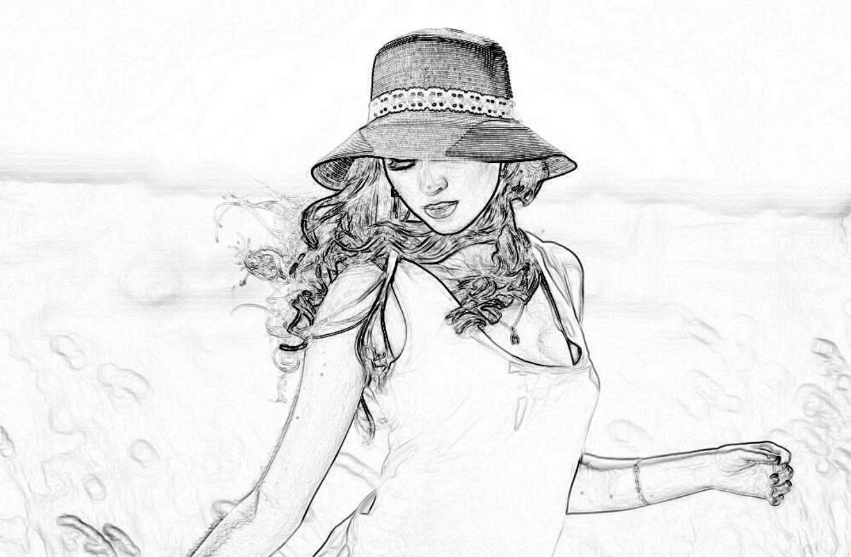 Pencil artist sketch editor apk screenshot