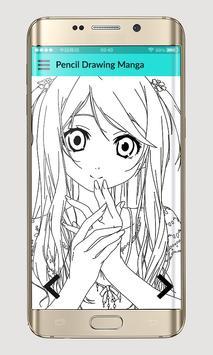 Pencil Drawing Manga poster
