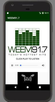 WEEM91.7 poster