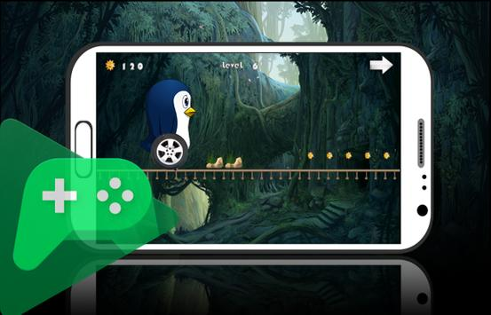 Penguin ice Run 2 apk screenshot