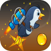 Flying Penguins Game in The sky icon
