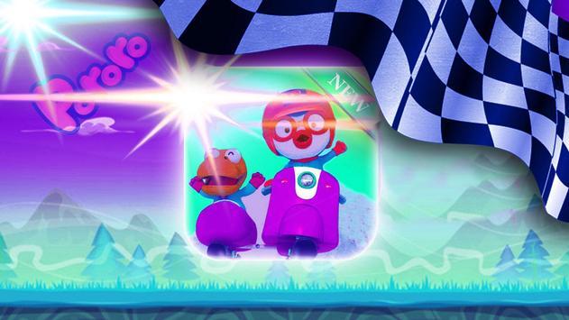 New little pororo Racing adventure screenshot 2