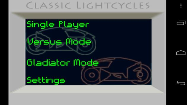 Classic Lightcycles poster