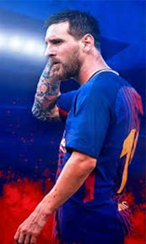 Lionel Messi 4K HD Lock Screen poster