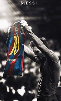 Lionel Messi 4K HD Lock Screen screenshot 1