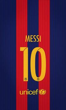 Lionel Messi 4K HD Lock Screen screenshot 3