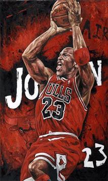 Michael Jordan 4K HD Lock Screen screenshot 1