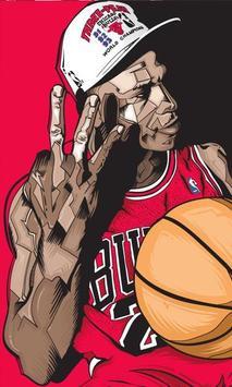 Michael Jordan 4K HD Lock Screen screenshot 2