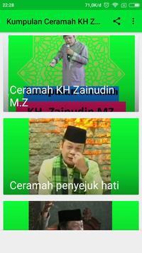 Pengajian K.H Zainudin MZ apk screenshot