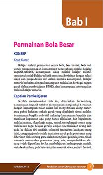Buku Penjas Kelas 9 Kurikulum 2013 screenshot 5