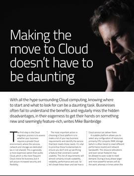 Cloud Computing Intelligence screenshot 4