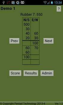 Bridge Scorer apk screenshot