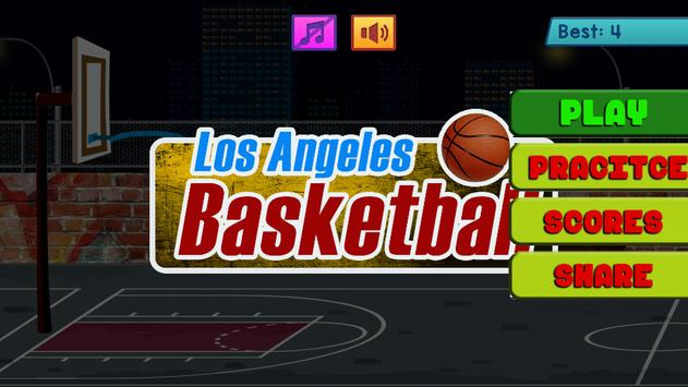 Los Angeles Basketball poster
