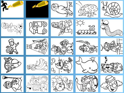Kids Paint & Coloring Free apk screenshot
