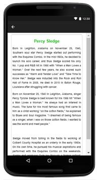 Percy Sledge - Music And Lyrics screenshot 4