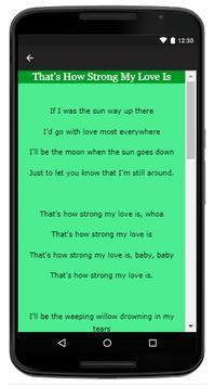 Percy Sledge - Music And Lyrics screenshot 3