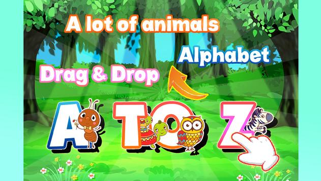 A to z Alphabet Tracing Phonics screenshot 7