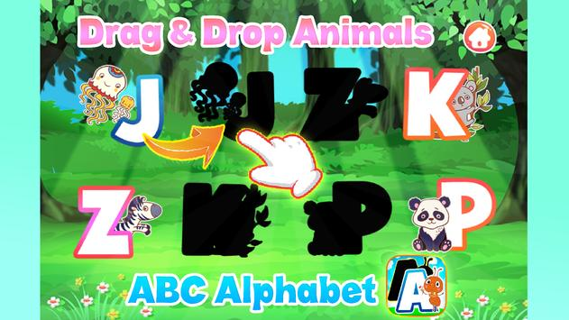 A to z Alphabet Tracing Phonics poster