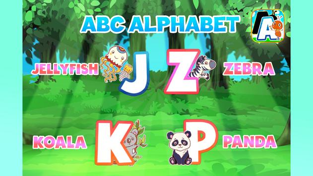 A to z Alphabet Tracing Phonics screenshot 1
