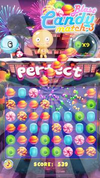 Candy Blast Match3 Puzzle poster