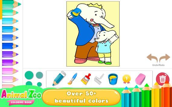 Libro para colorear Animales Descarga APK - Gratis Educativos Juego ...