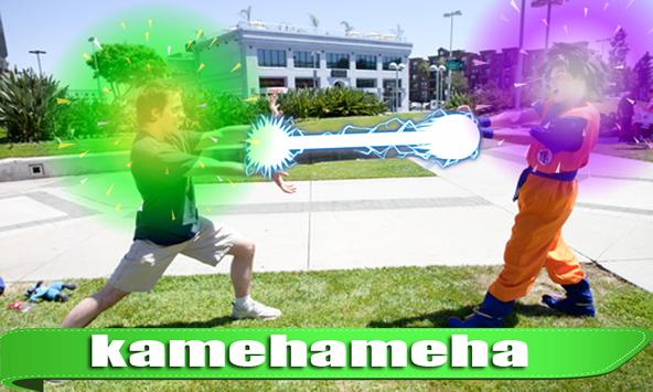 Kamehameha Photo Effect screenshot 2