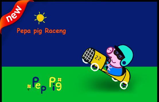 New Pepa pig Racing 2 poster