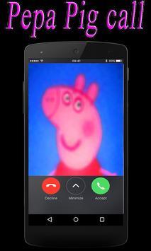 Pepa and pig real call screenshot 1