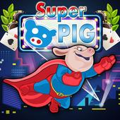 Super Hipo Pig - Adventure Pepa Hero icon