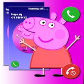Pepa - Fake Call icon