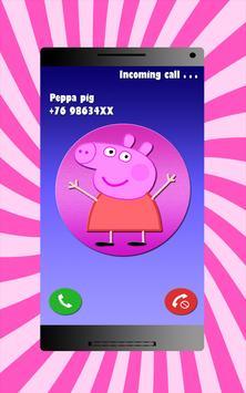 Pepa - Fake Call screenshot 2