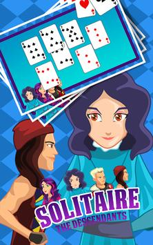 Solitaire The Descendants apk screenshot