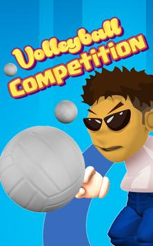 Volleyball: Competition poster