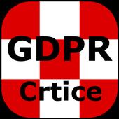 GDPR crtice icon